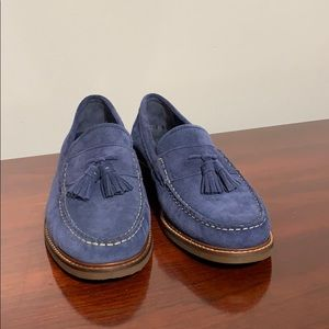 Cole Haan blue suede mens loafers 9M NEW